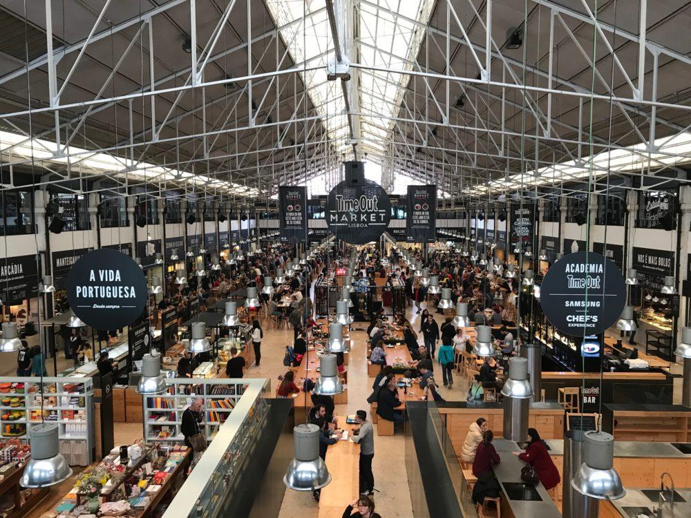 Lisbon Mercado de Ribeira Portugal