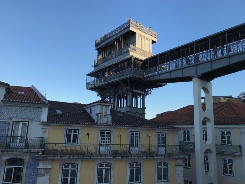 Santa Justa Elevador Lisbon Portugal