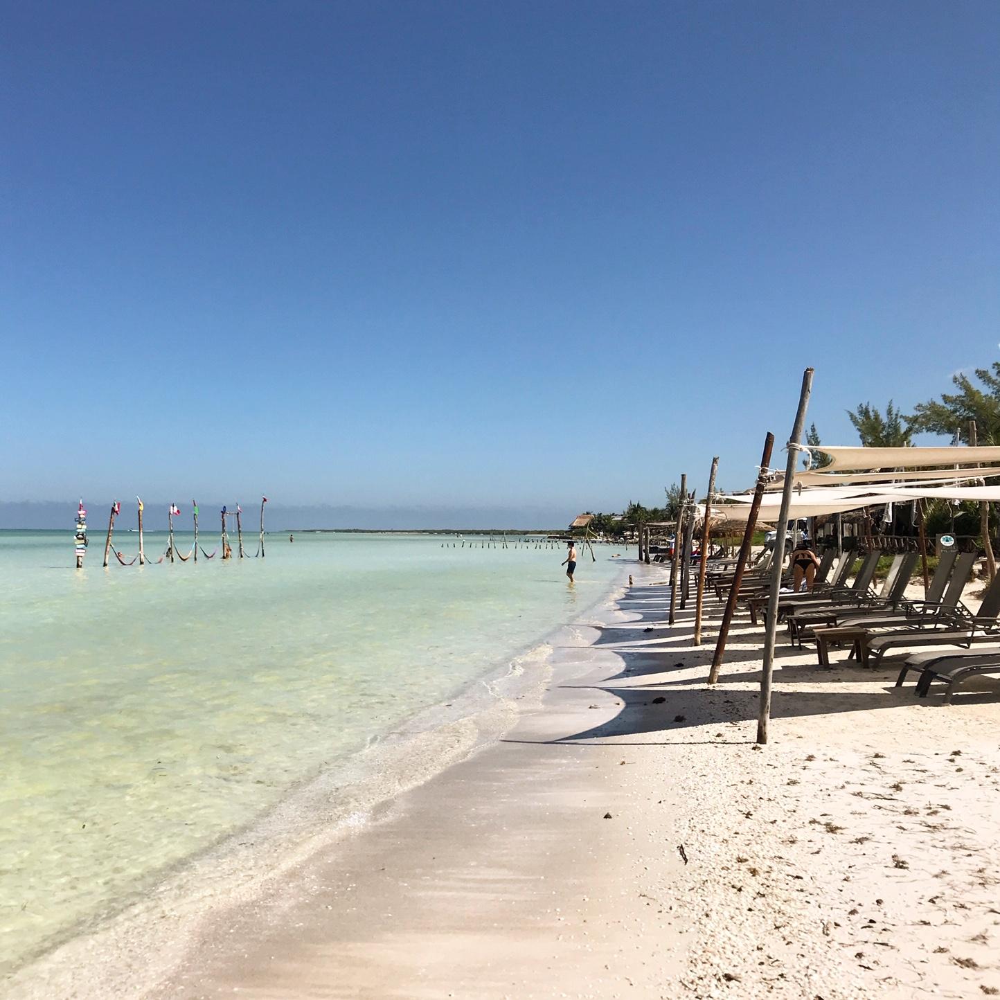 Isla Holbox Mexico beach