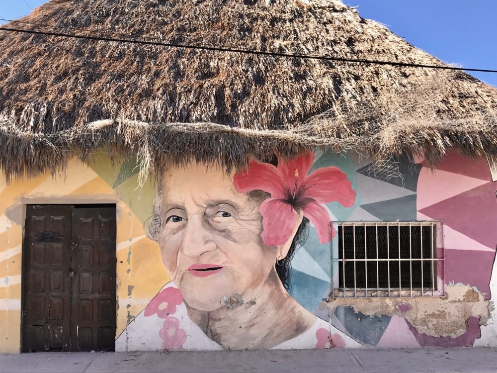 Isla Holbox Mexico streetart