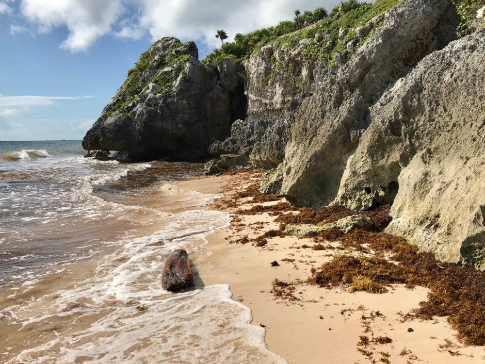 Tulum coast Mexico