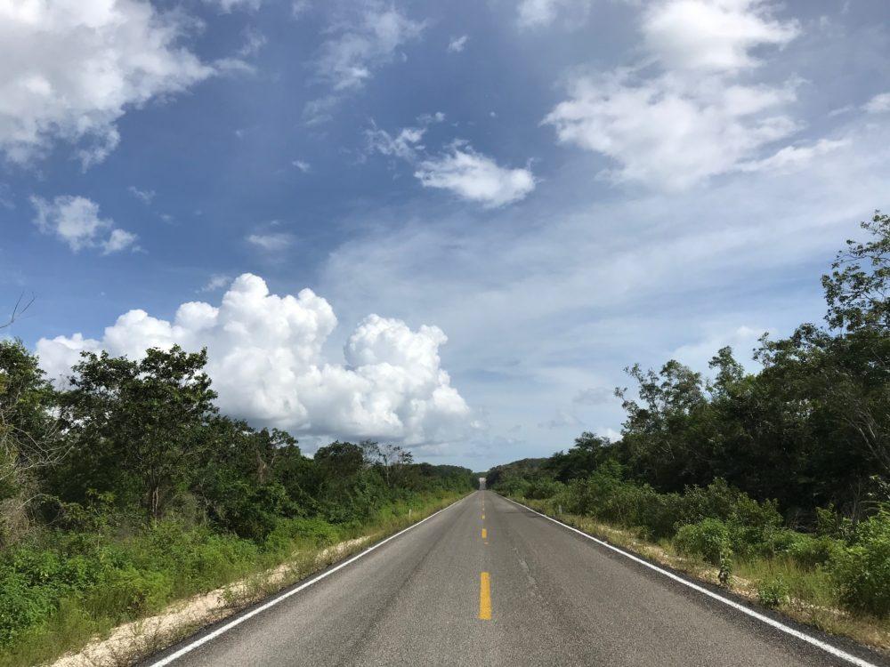 Road Yucatan Mexico