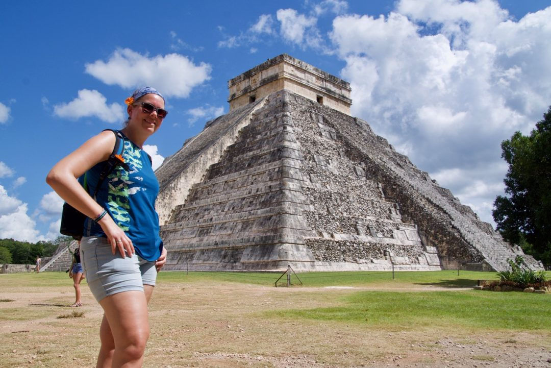 Marcella Chichen Itza Mexico