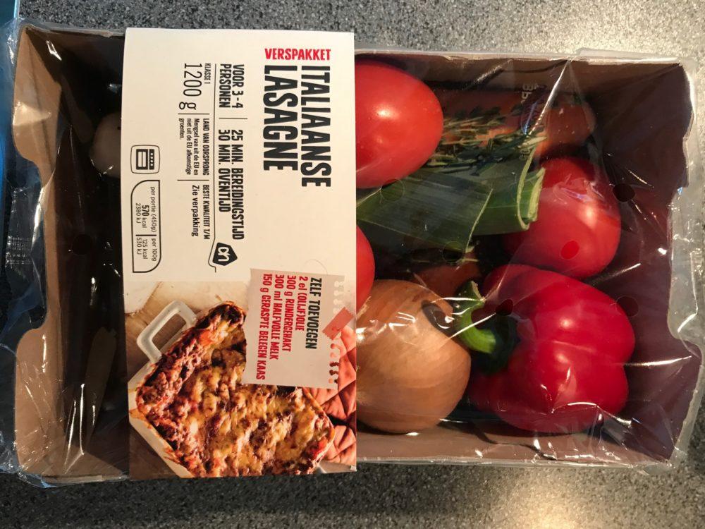 Italiaanse lasagne Albert Heijn