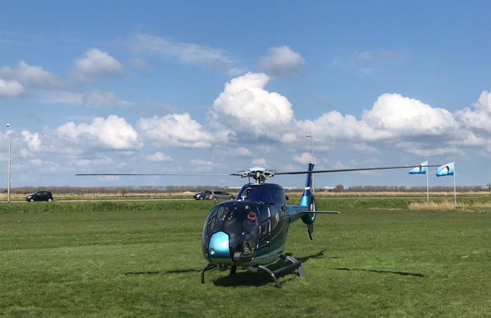 Helikopter Laag Holland