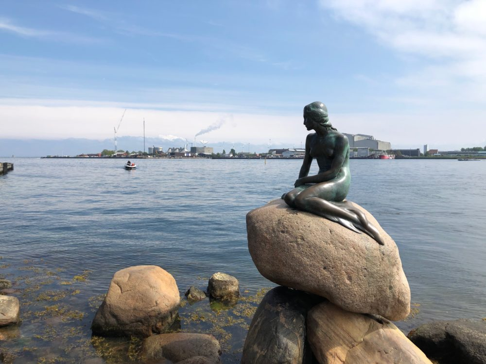Copenhagen mermaid