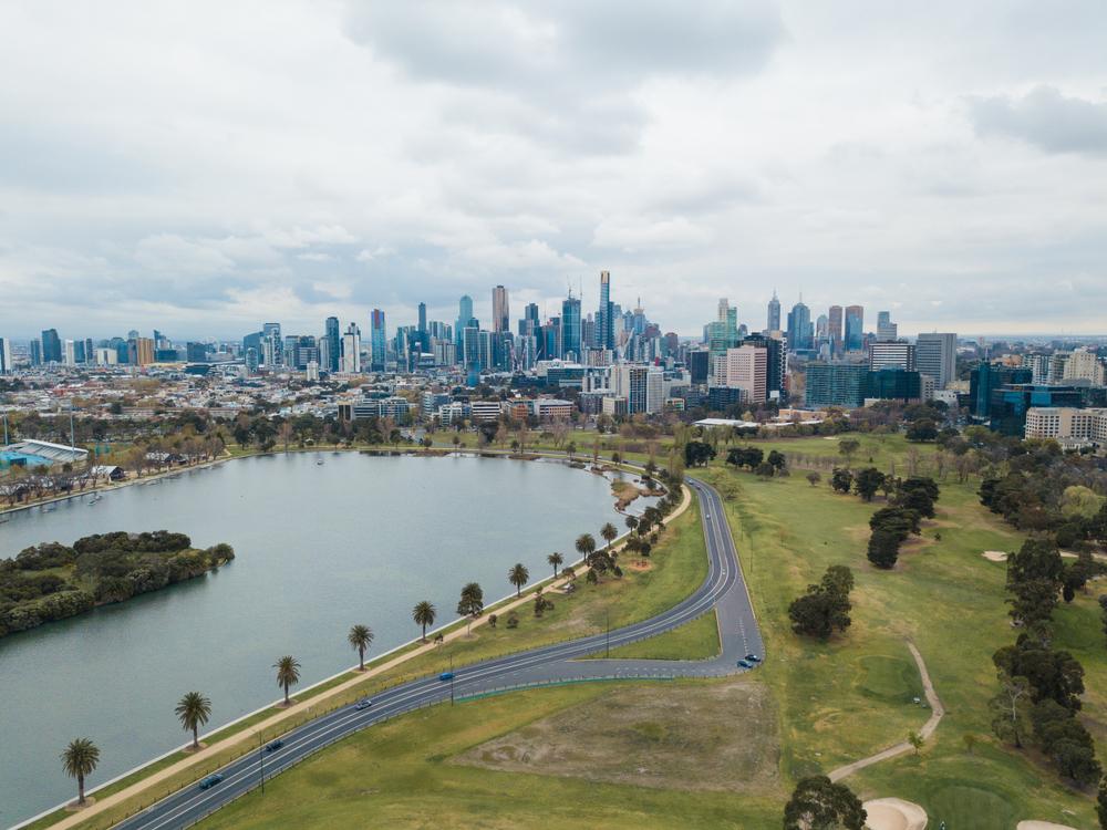 shutterstock_Melbourne F1 circuit