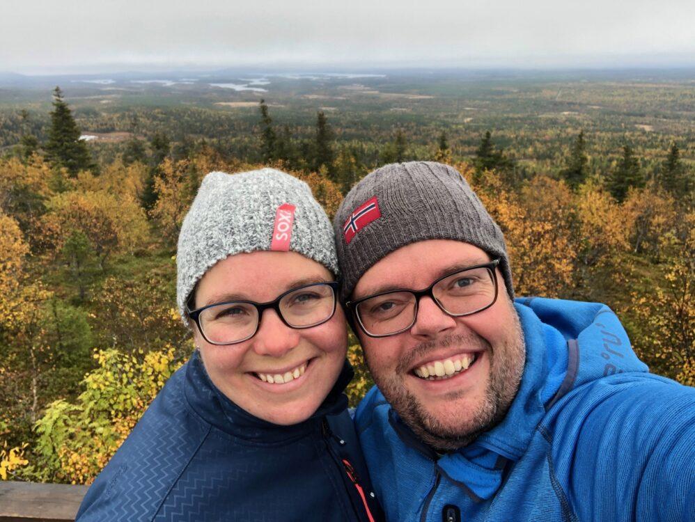 Jan en Marcella Finland