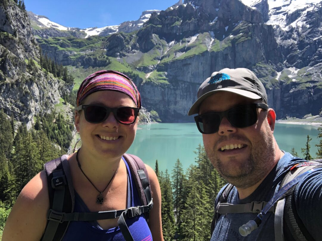 Jan en Marcella Oeschinensee Switzerland
