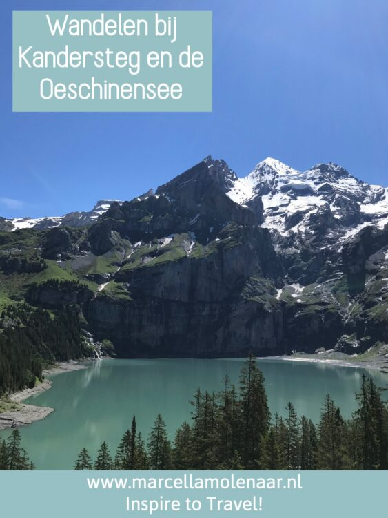 Kandersteg Oeschinensee Switzerland