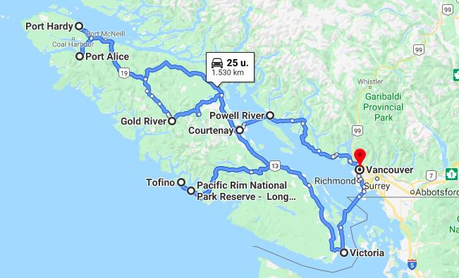 Roadtrip Vancouver Island