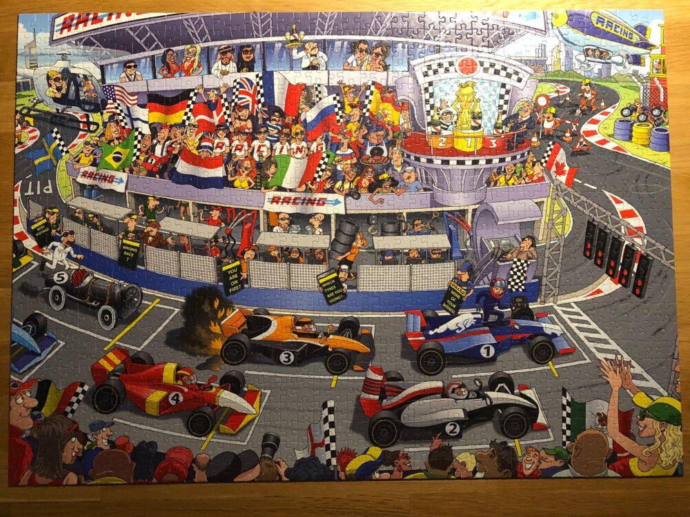 Formule 1 puzzel