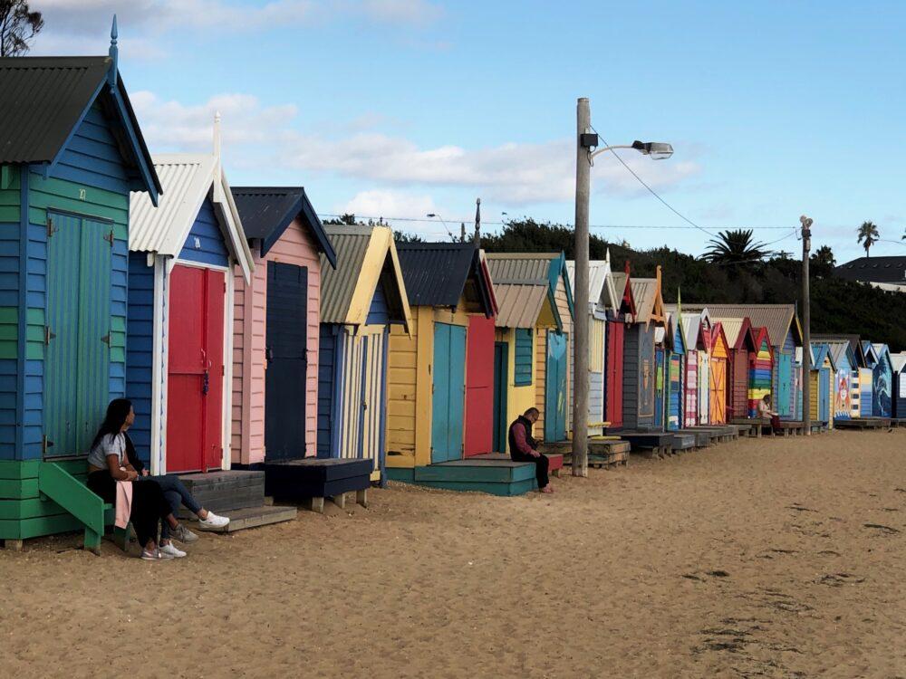 Brighton Bathing Houses Australia