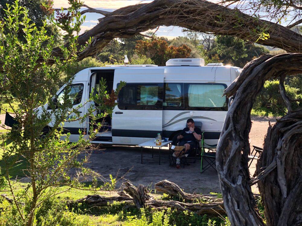 Camper Wilsons Promontory Australia