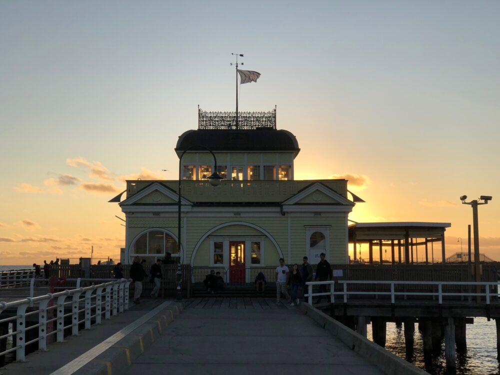 Pier St Kilda Australia