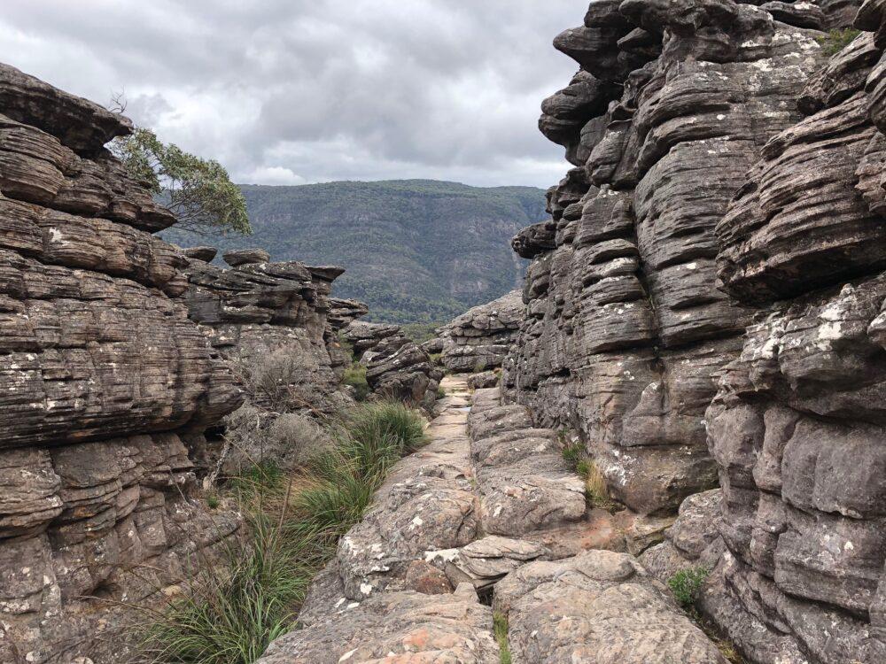 Wandelen in de Grampians Pinnacles Lookout