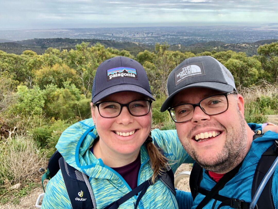 Jan en Marcella Adelaide Hills Australia