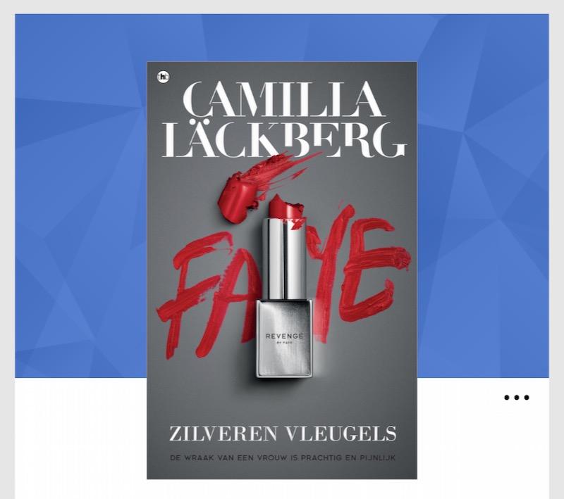 Zilveren vleugels van Camilla Lackberg