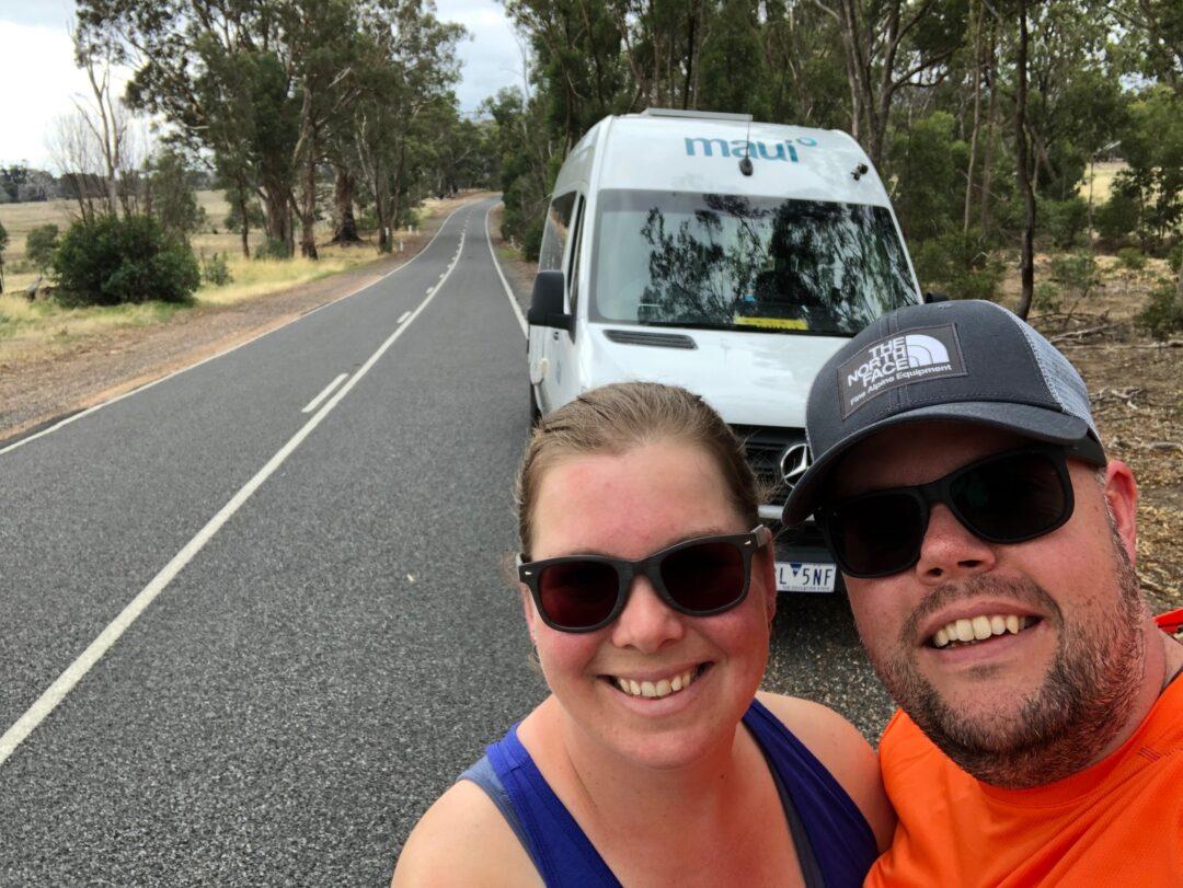 Jan en Marcella Camper Australië