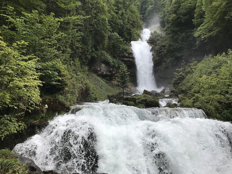 Giessbach waterval Switzerland