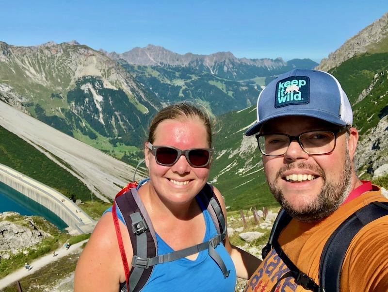 Jan en Marcella Lunersee Austria