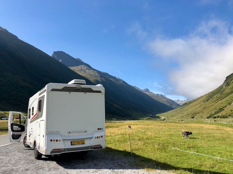 Camper Silvretta Hochalpenstrasse Austria