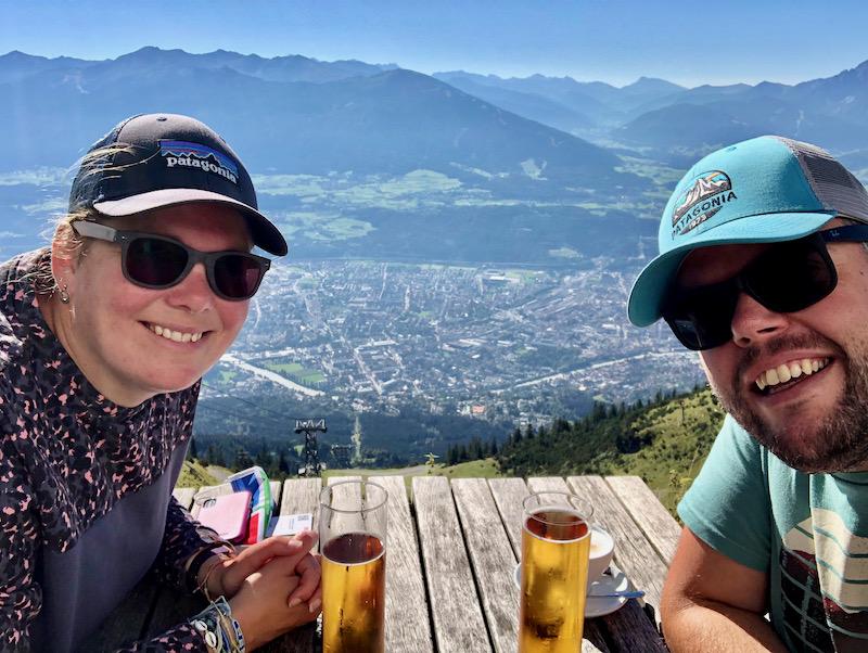 Jan en Marcella Hafelekerspitze Austria