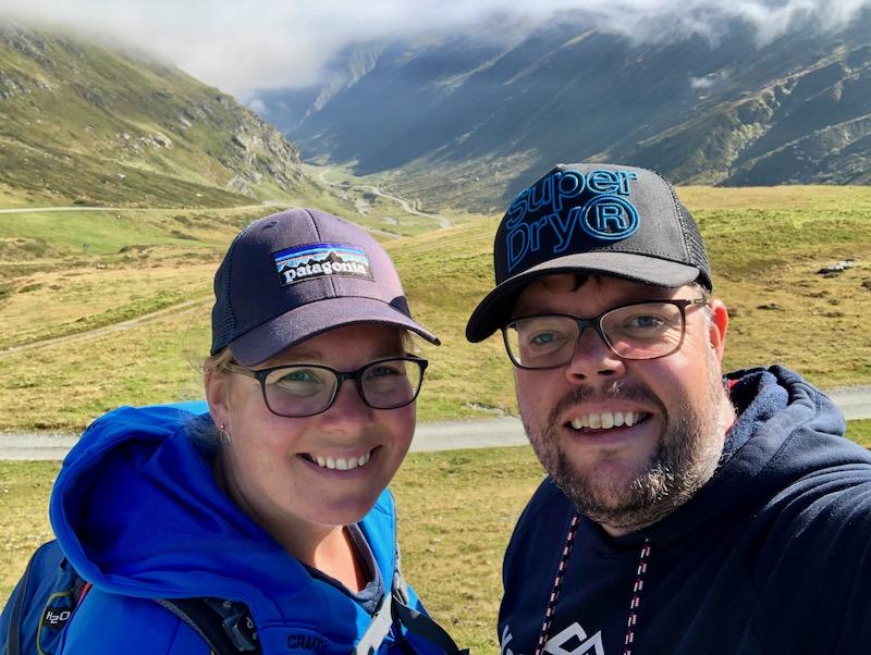Jan en Marcella Silvretta Hochalpenstrasse Austria