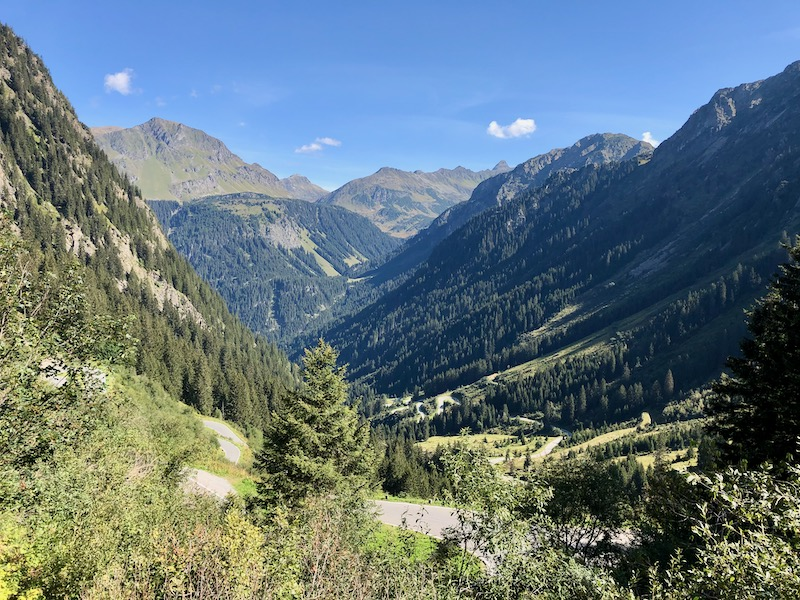 Silvretta Hochalpenstrasse Austria