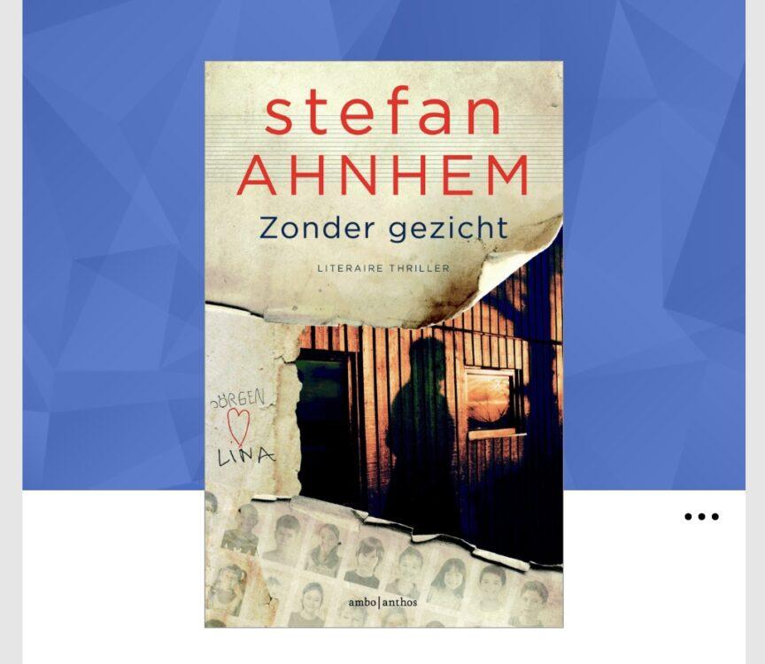 Stefan Ahnhem Zonder gezicht