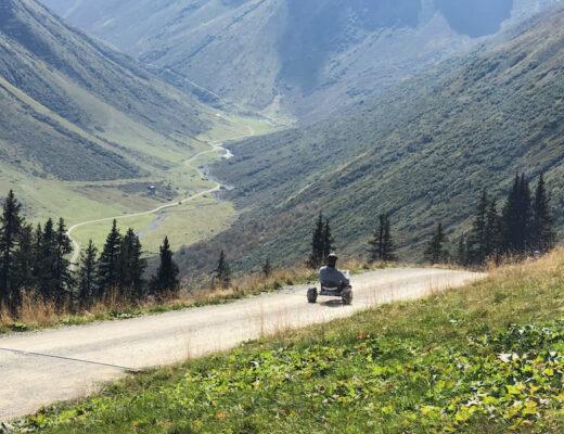 Gargellen Mountain Carts Austria
