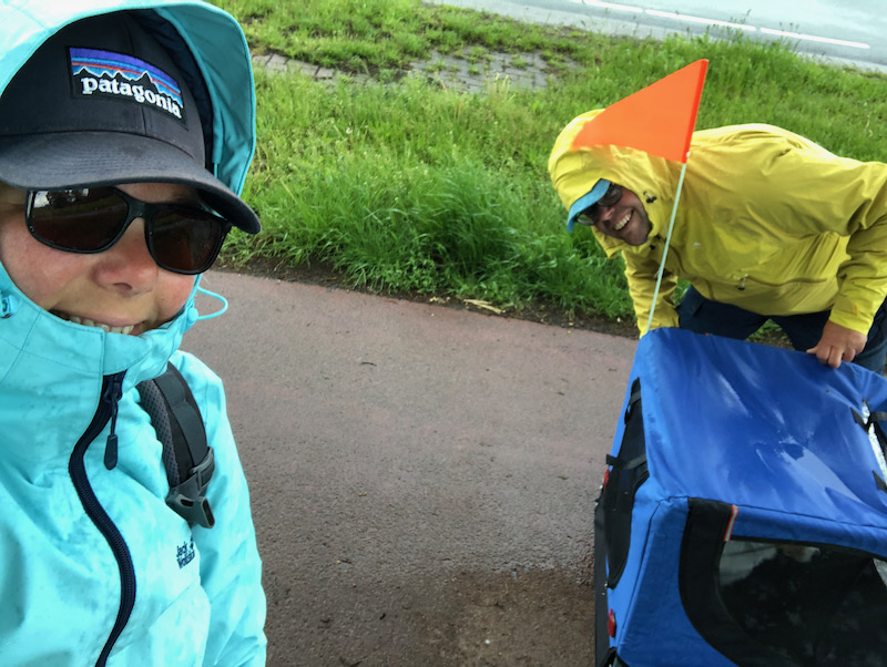 Jan en Marcella Ootmarsum regen